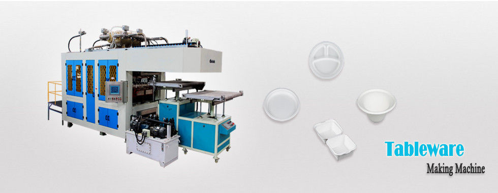 Disposable Fully Automatic Paper Plate Making Machine For Making Paper Plates Tableware