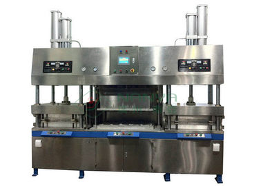 High Capacity Paper Pulp Molding Paper Plate Making Machine - Thermoforming  sc 1 st  Quality Pulp Molding Equipment u0026 Paper Pulp Molding Machine Manufacturer & Easy Operating Wood Fiber Paper Plate Manufacturing Machine Semi ...