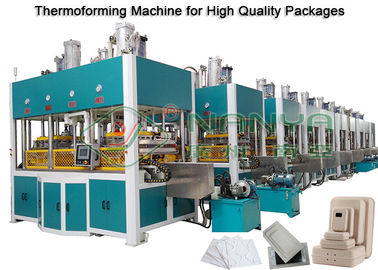 Good Quality Pulp Molding Equipment & Paper Molded Pulp Machine Forming , Drying And Hot Press Shaping 150kg/h on sale