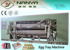 Molding Pulp Egg Tray Making Machine Fruit Tray Production Line Single Layer