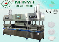 China Biodegradable Sugarcane Moulding Pulp Equipment Paper Plate Making  Machine factory