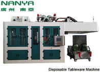 China Sugarcane Disposable Take Away Tableware Pulp Molding Equipment With PLC + Touch Screen + Simens factory