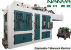 China Automatic Biodegradable Bagasse Pulp Molding Equipment / Plate Making Machine factory