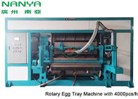 China Automatic Pulp Molding Equipment / Rotary Recycle Paper Egg Tray Manufacturing Machine factory