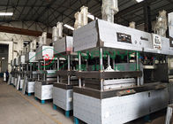 Electronic Paper Pulp Moulding Machine , Pulp Molding Tableware Equipment