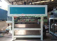 Energy Saving Pulp Molding Equipment , Egg Box Making Machine Low Noise