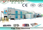 Cup Carrier / Egg Tray Pulp Molding Equipment 3000Pcs To 6000Pcs Per Hour