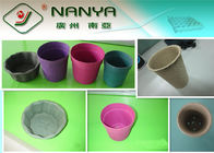 China Molded Paper Products Seedling Cup / Flower Pot for Agricultural Use factory