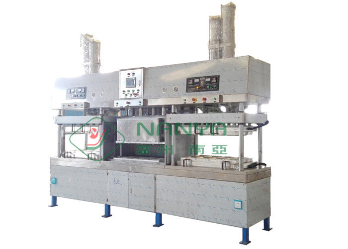 Vacuum suction Thermoforming Paper Plate Making Machine / Tableware Injection Molding Machine