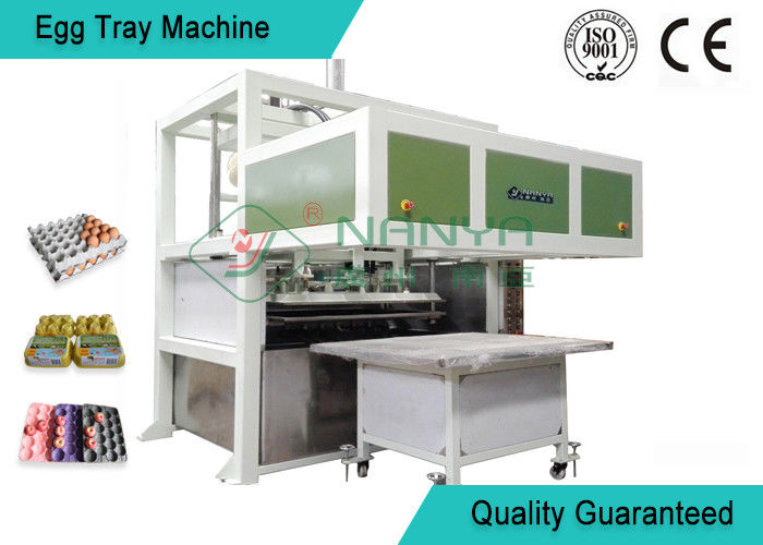 Recycled Paper Pulp Molding Machine Semi - Automatic Egg Tray Line With Dryer