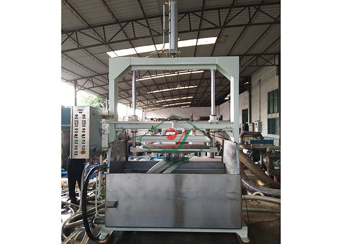 Small Capacity Waste Paper Egg Tray / Egg Carton Pulp Molding Manual Machine