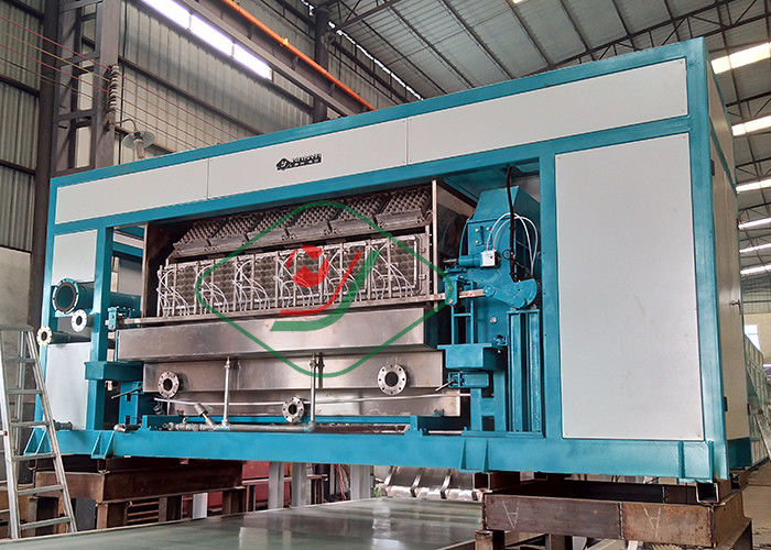High Efficiency Recycled Paper Egg Tray Machine / Egg Carton Making Machine with 6000 Pcs/H