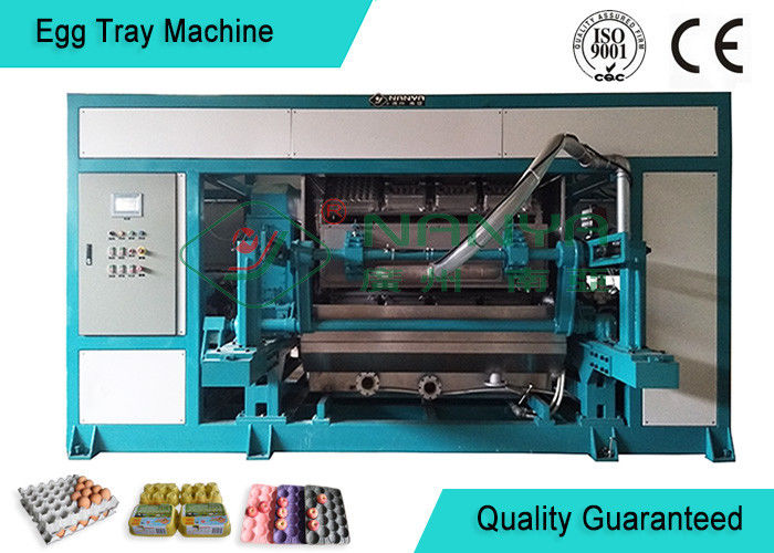 Powerful Automated Rotary Egg Tray / Fruit Tray Moulded Machine 4000pcs/h