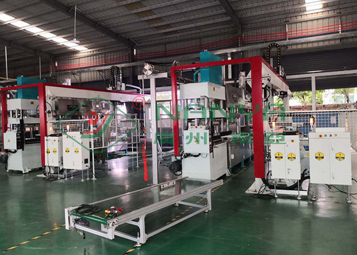 Semi Automatic Paper Plate Making Machine For Dinnerware , Tableware
