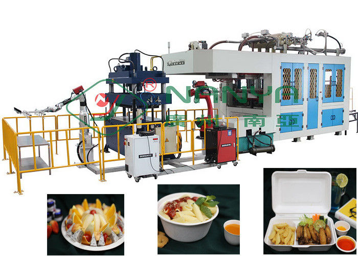 Paper Pulp Molding Equipment Molded Bagasse Fiber Lunch Box Machine