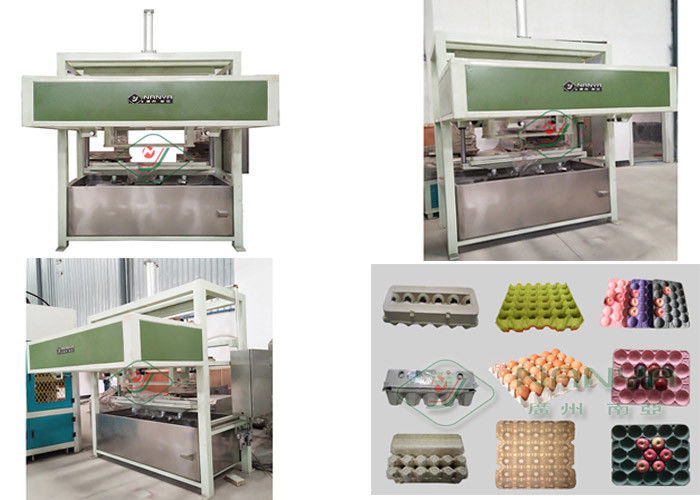 Chicken Farm Egg Tray Carton Paper Reciprocating Molding Machine