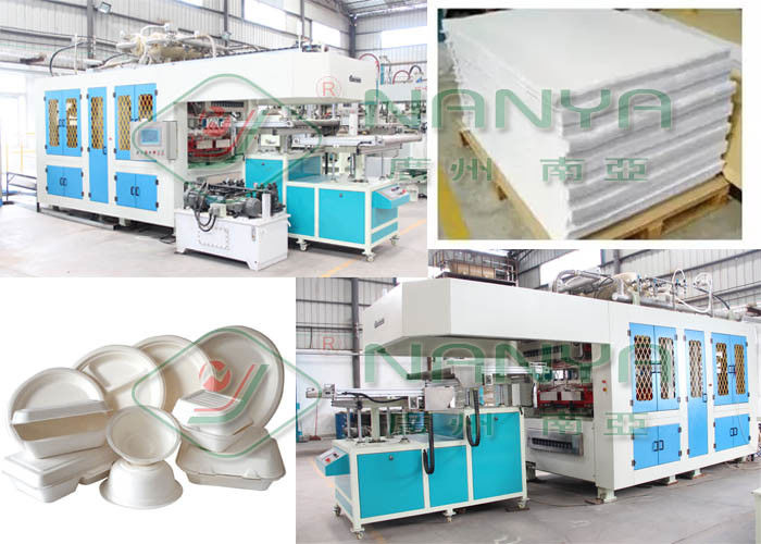 Food Box Container 120kw 1800pcs/H Pulp Molding Machine