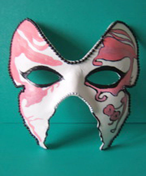 Custom Pulp Moulded Products DIY Mask for Party Costume Decoration