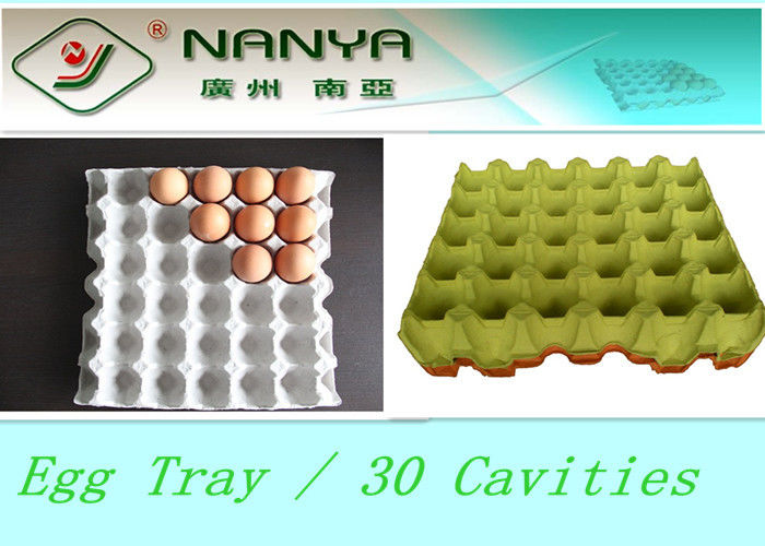 Biodegradable Pulp Moulded Products Disposable Egg Tray with 30 Cavities