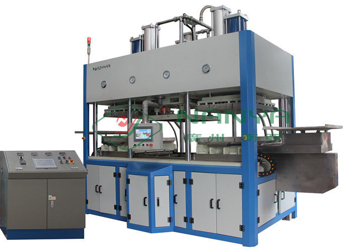 Thermoforming Paper Pulp Molding Equipment For Top Grade Fine Molded Pulp Products