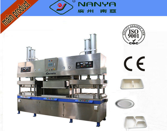 Disposable Take Away Food Box / Paper Plate Making Machine 2000Pcs Per Hour