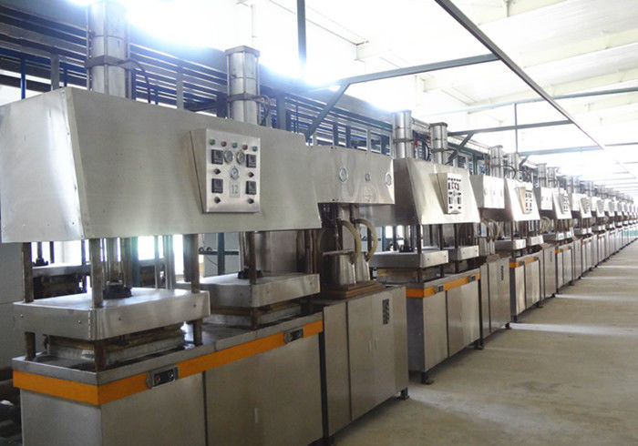 Professional Dishware / Paper Plate Making Machine Dry in Mould 3500 Psc / H
