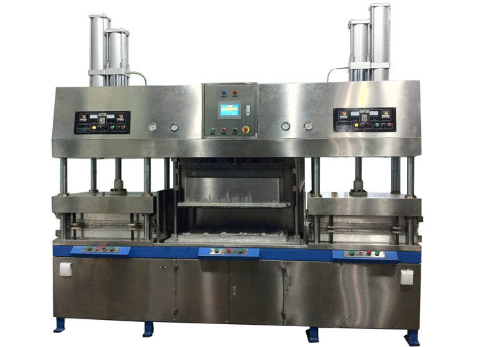 Disposable Semiautomatic Paper Pulp Molding Paper Plates Making Machine  sc 1 st  Quality Pulp Molding Equipment \u0026 Paper Pulp Molding Machine Manufacturer & Semiautomatic Paper Pulp Molding Paper Plates Making Machine