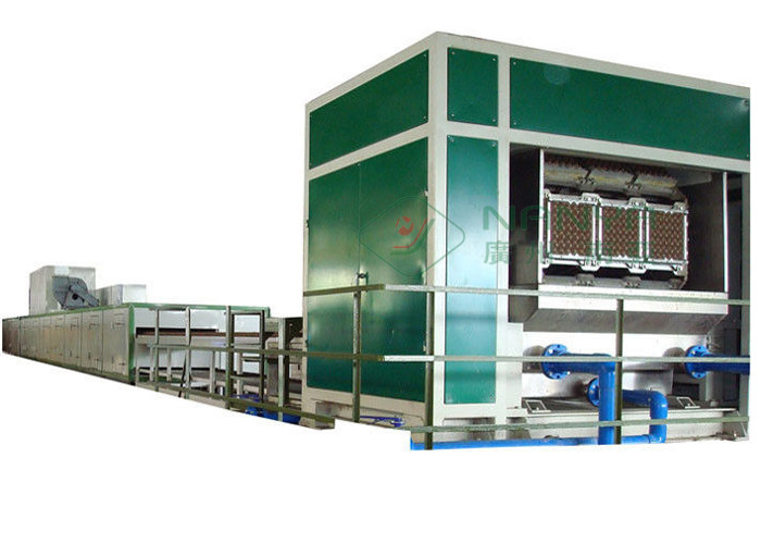 Full Auto Rotary Egg Tray Machine 3000pcs per hour / Energy Recycling Egg Carton Machinery