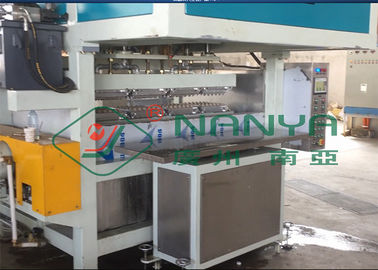 Recycling Paper Double Roller Egg Carton / Egg Tray Pulp Moulded Machine 1 Year Warranty
