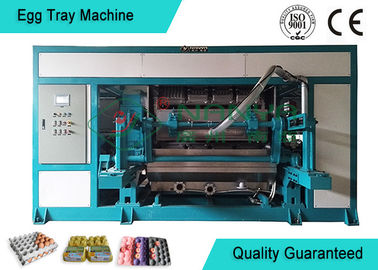 Automated Rotary Egg Tray / Fruit Tray Moulded Machine 4000pcs/h