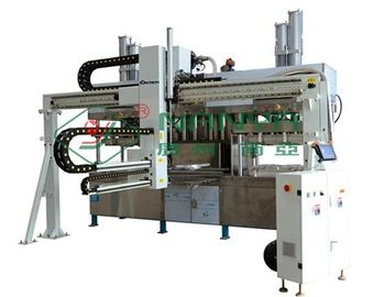 Electronic Paper Pulp Moulding Machine , Egg Crate Pulp Molding Equipment