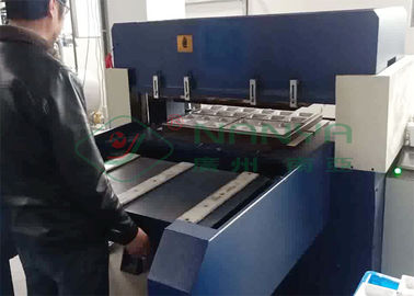 Paper Pulp Molding Edge Trimming / Edge Cutting Machine with High Pressure