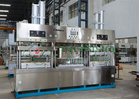 Microwaveabl Sugarcane Takeout Food Container Pulp Molding Machine