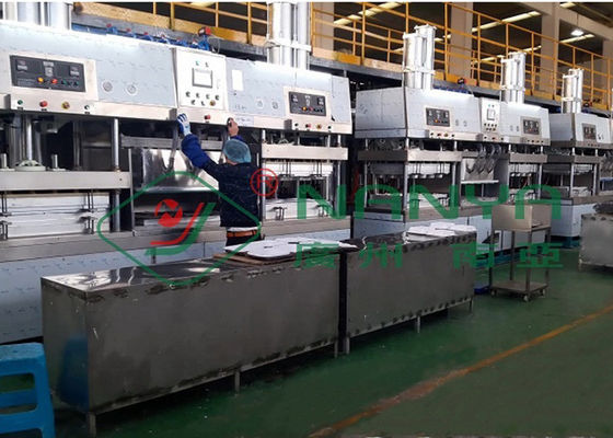 8 Ton/Day Bamboo Pulp Paper Plate Tableware Making Machine