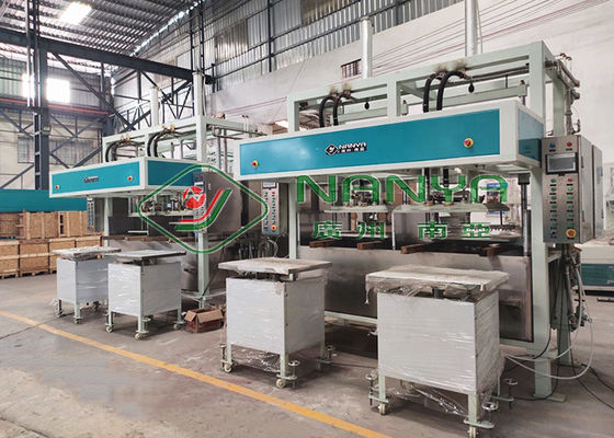 Recycle Paper Electronic Protective Package Equipment Pulp Tray Machine