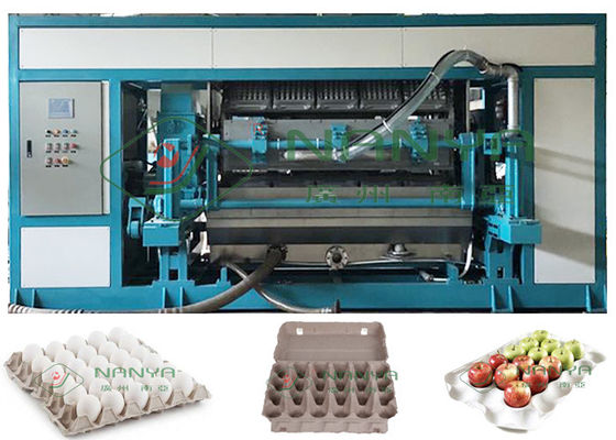 Stable Automatic Paper Pulp Molded Egg Tray Machine 5000pcs/H