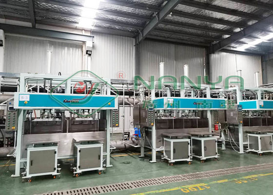 Waste Paper Non Plastic Electronic Packaging Pulp Tray Machine