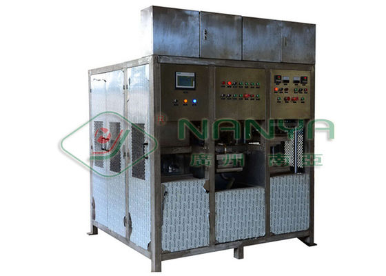300*300mm Paper Pulp Molding Machine With Forming Hot Press