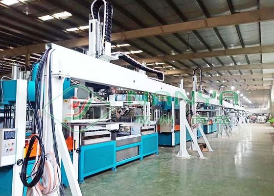 380kw Bagasse Paper Plate Tableware Thermoforming Machine