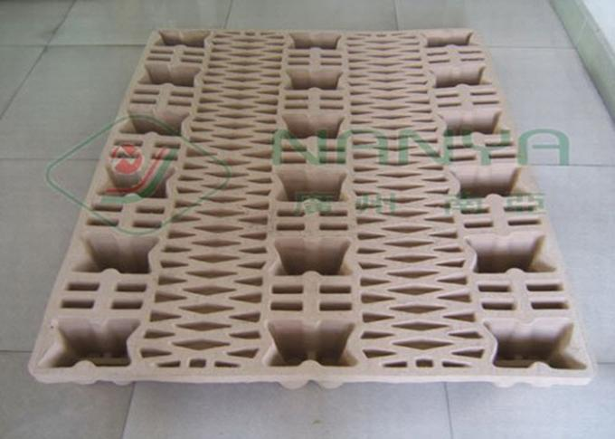 Eco - Friendly Waste Paper Pulp Pallet Molded Single Faced Style