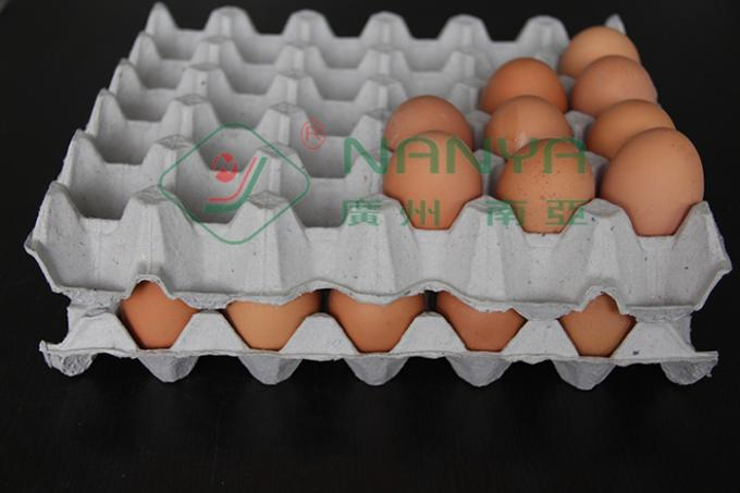 Small Manual Egg Tray Forming Machine / Waste Paper Industrial Packages Line