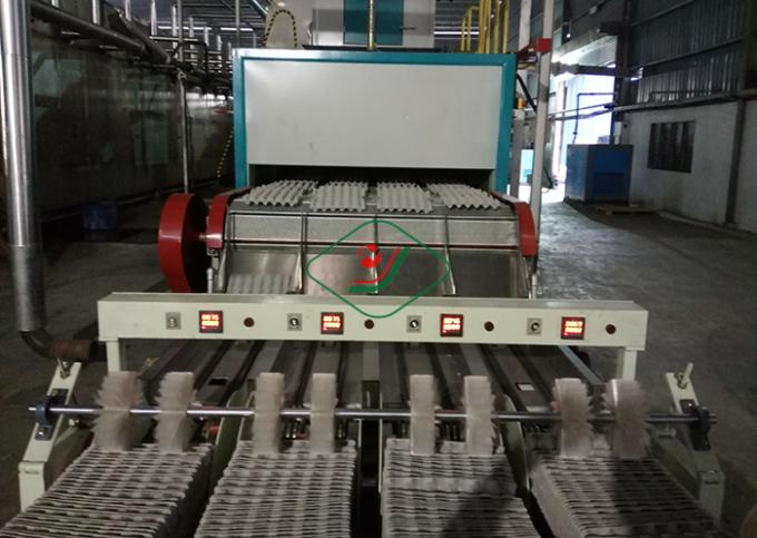 Auto Paper Pulp Molding Equipment Reciprocating Egg Tray / Seeding Tray Making Machine