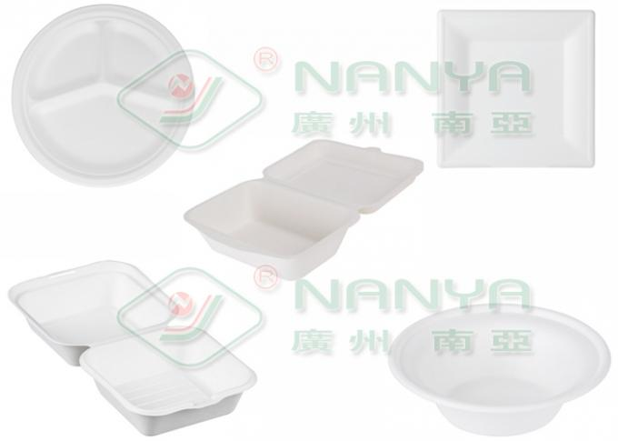 Eco Freindly Paper Plate Making Machine Semi Automatic Pulp Mold Thermoforming